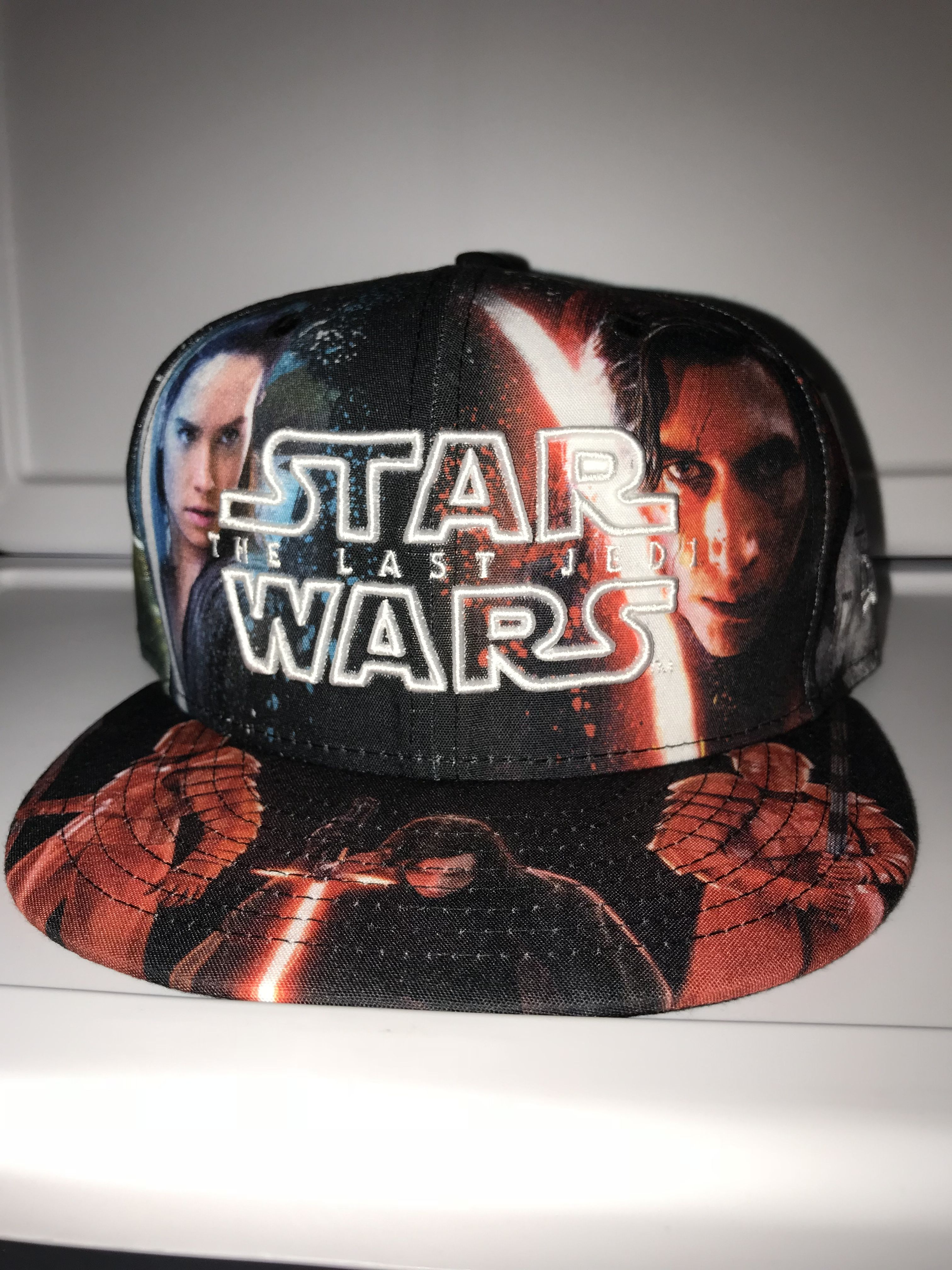 77445a75 New Era Star Wars the last Jedi movie characters all over 59FIFTY fitted  exclusive of hatland