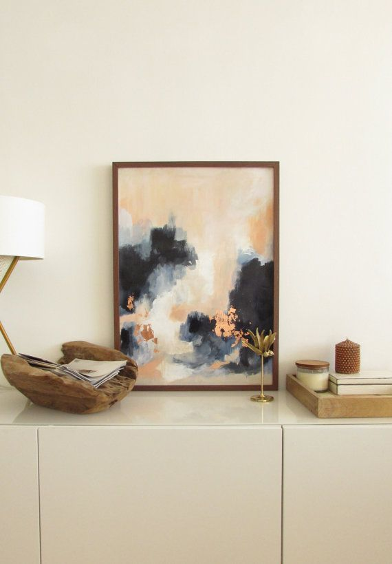 Abstract art/ art painting | Art art, Ikea pictures and Paper size