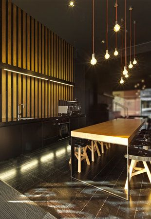 Cool Wall Panelling Lighting Hoyne Office In Melbourne By