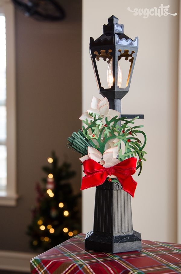 Svgcuts Vintage Lamp Post Coming Soon Christmas Paper Crafts Christmas Card Inspiration Christmas Paper