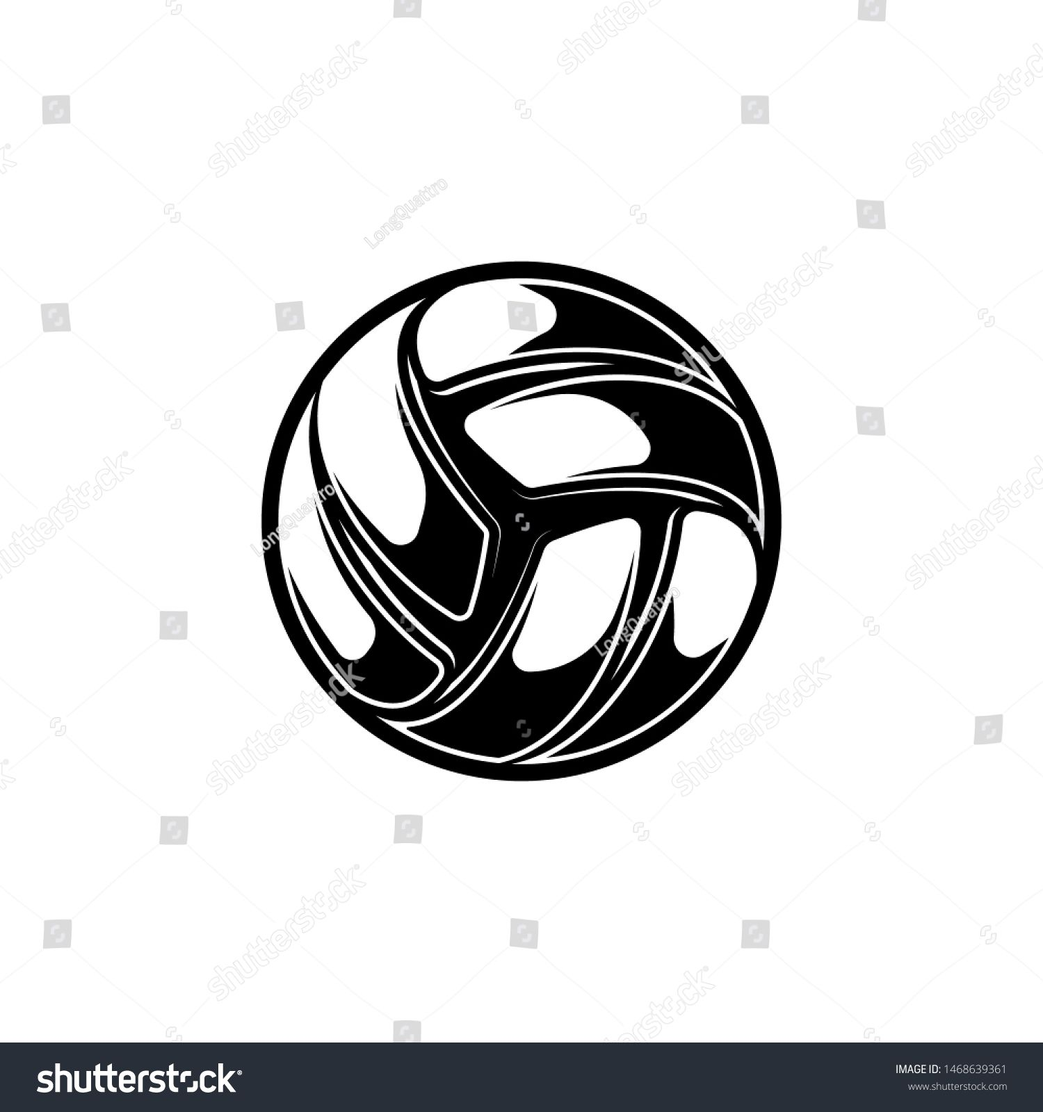 Volleyball Silhouette With Shadow Lines Isolated On White Background Ad Aff Shadow Silhouette Volleyball Volleyball Silhouette Graphic Design Ppt Design