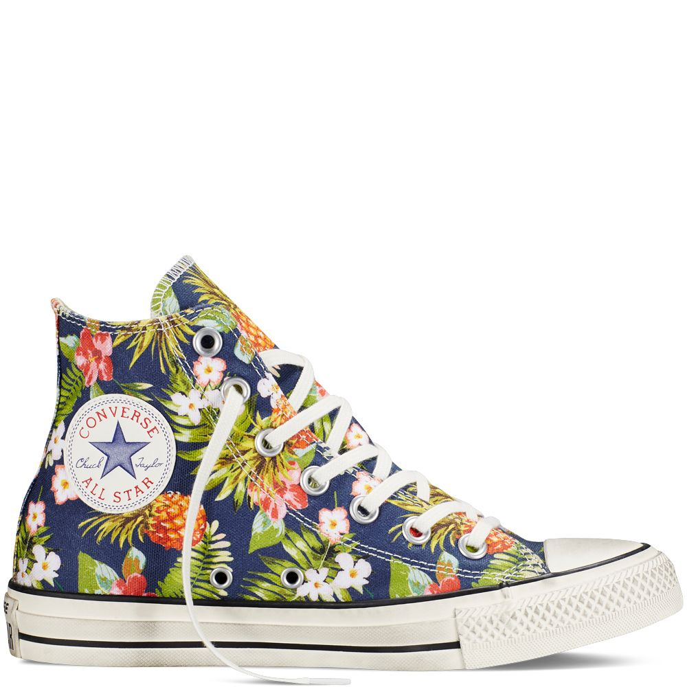 converse chuck taylor all star floral