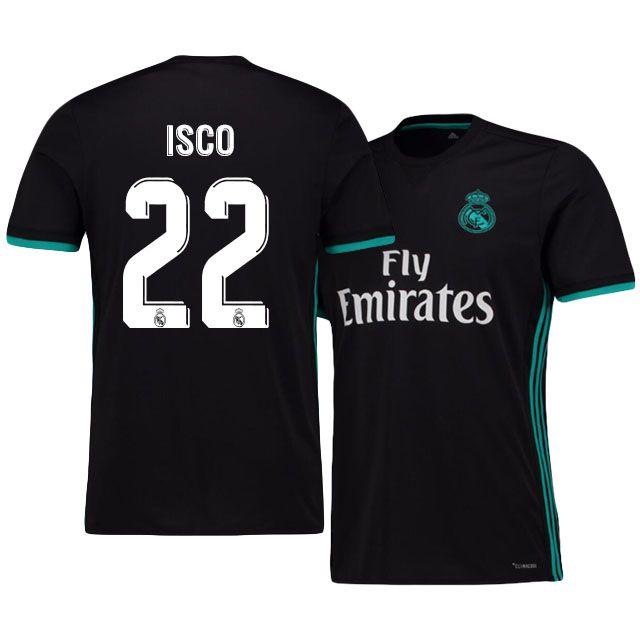 Real Madrid. Real Madrid Jersey 17-18 isco Away Shirt