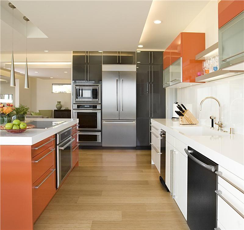 Color in the Kitchen Orange - Brilliant Base on HomePortfolio