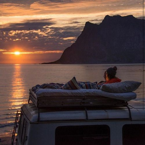 Idee: Dach #campingpictures