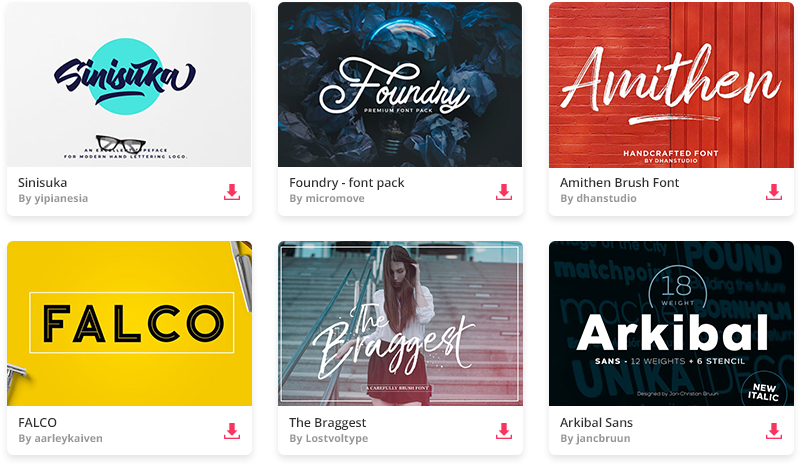 Download The top 15 best professional font combinations of 2019 ...