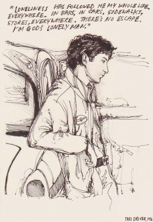 Um. I drew Taxi Driver fanart.