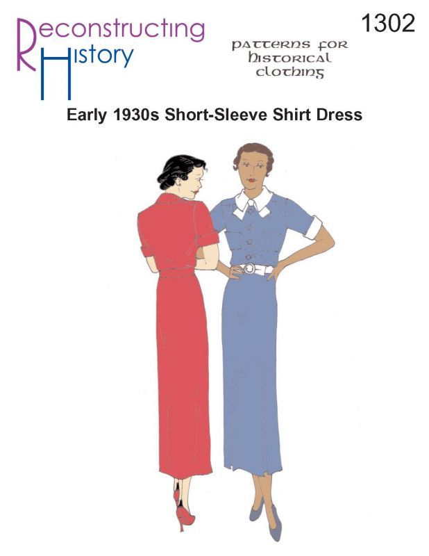 RH1302 -- 1930s Day Dress - Reconstructing History LLC