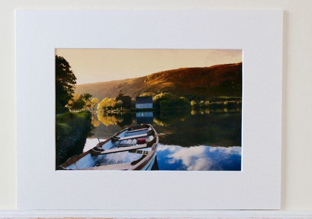 7x5 Inch Lustre Print Mounted 10x8 Inch Photo Photo Printing Landscape
