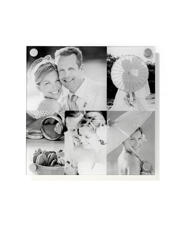 Acrylic prints bring a touch of variety to your wedding photos shutterfly com