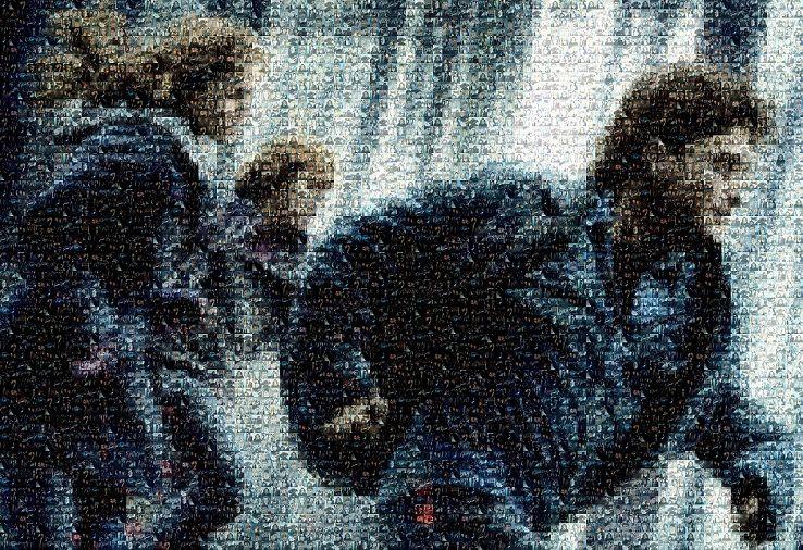 Harry Potter Mosaic