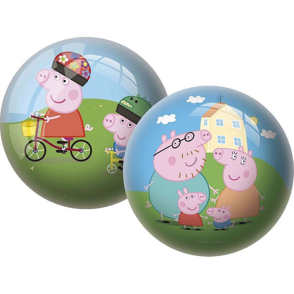Juega con la pelota de la cerdita más atrevida, Peppa Pig.
