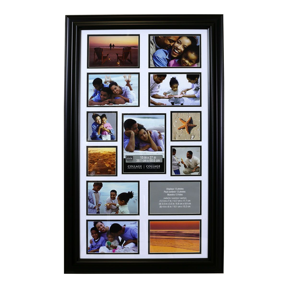 Studio Decor 13-Opening Collage Frame By Studio Décor | Pinterest
