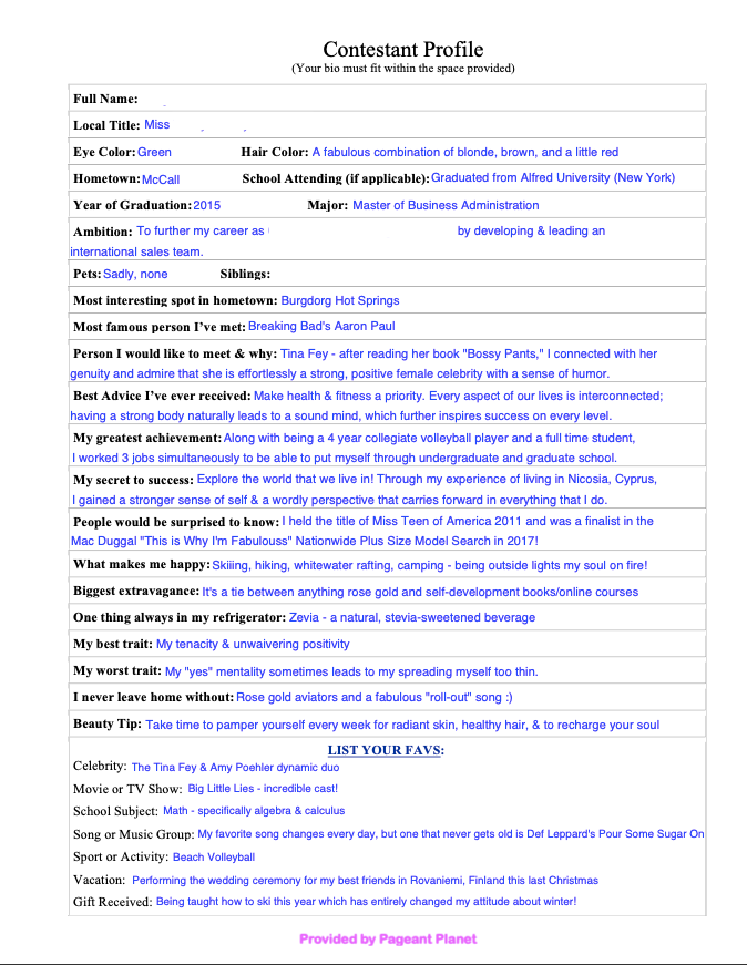 Pageant Paperwork Resume Examples Templates And Tips Everything That You Do In A Page Resume Examples Masters In Business Administration Pageant Coaching