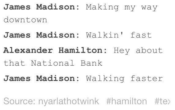 hamilton and madison relationship