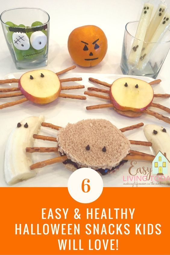 Easy and Healthy Halloween Snacks Kids Will Love Healthy halloween - halloween snack ideas