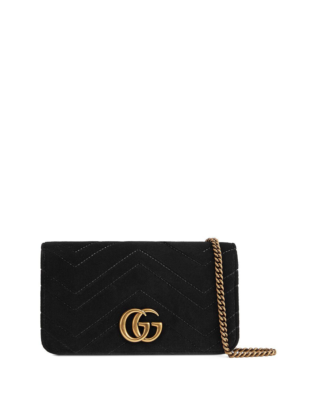 23c14d1b8a80 GG Marmont Velvet Crossbody Bag Gg Marmont