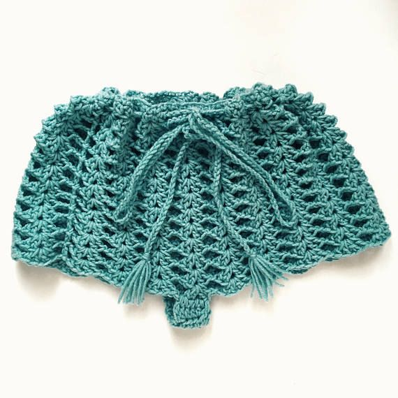 Crochet Shorts Pattern -- \'SPIRIT Shorts\' | Falda short, Vestidos ...