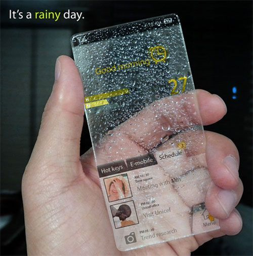 Window phone concept...that would be pretty cool to see such a thing in real life! 2013-12-12その六 玻璃效果的界面