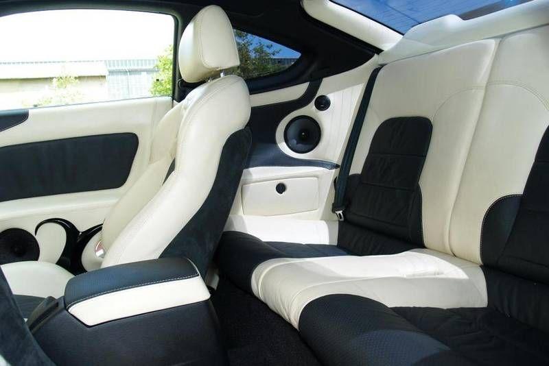 Pirelli Tuning Award Hyundai Coup Tiburon Tuscani White And Black Interior Custom Auto