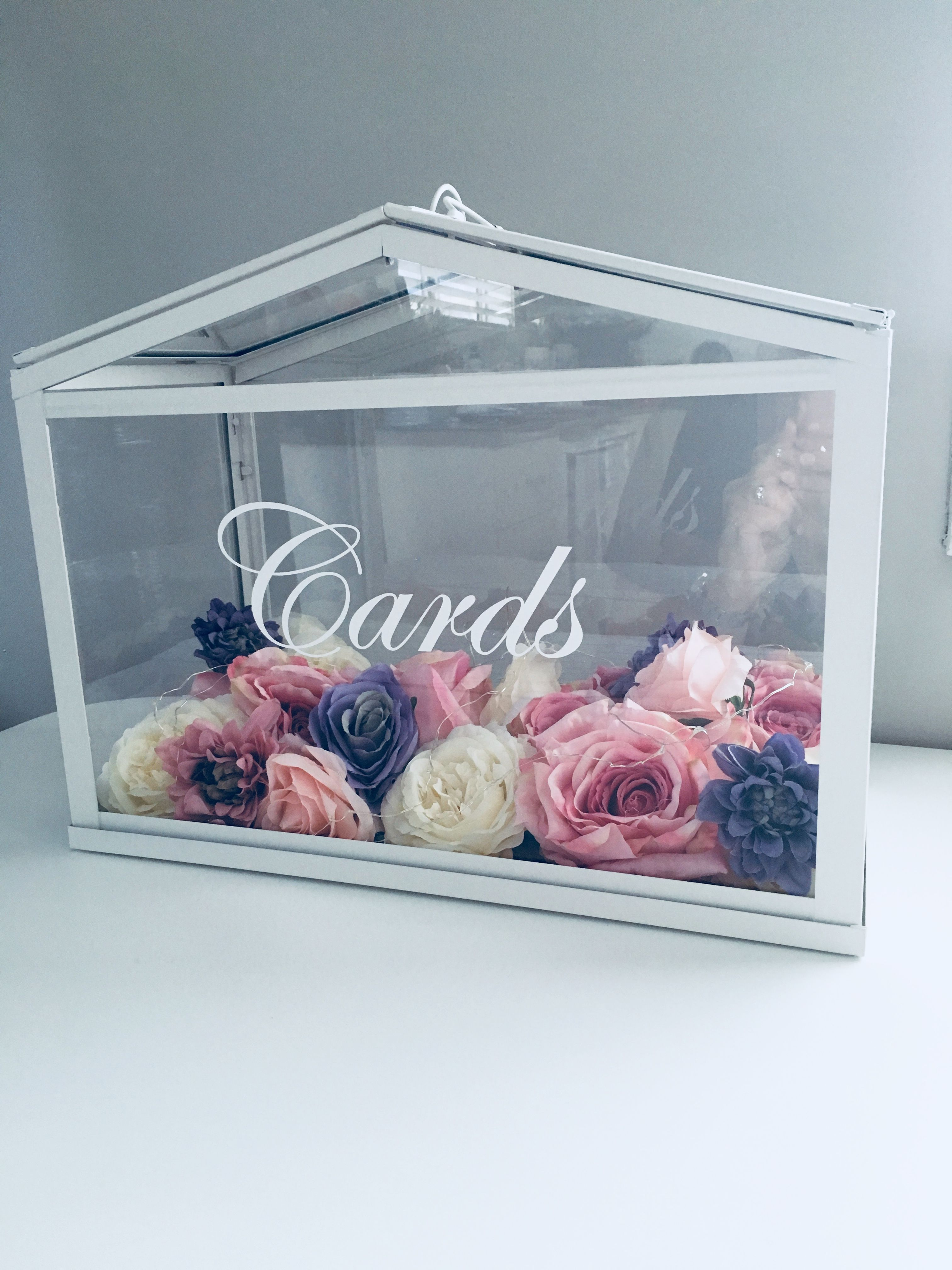 Ikea Socker Greenhouse Wishing Well Cards Box With Images