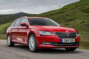 New Car Reviews Online Skoda Superb Estate And Lexus Rx