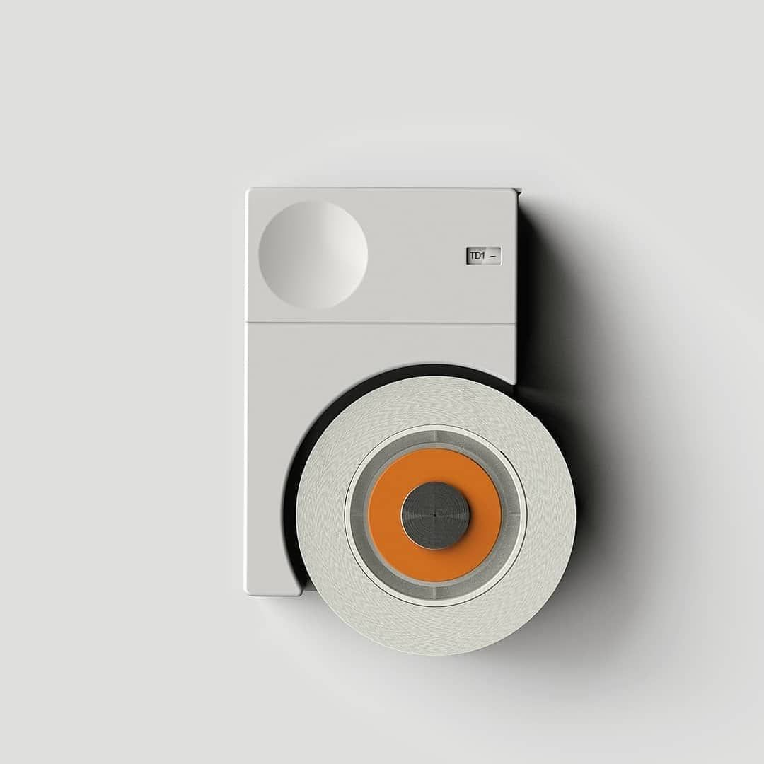 How About This Little Dieter Rams Inspired Tape Dispenser Concept From Michiopapers Minimalist Minimalobsession Braun Design Dieter Rams Tech Design