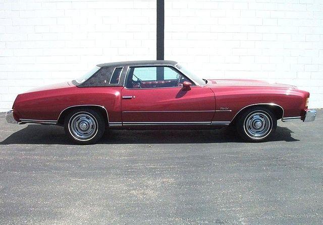 1974 Chevrolet Monte Carlo Maroon W Black Landeau Top 350 Auto Chevrolet Monte Carlo Chevrolet Monte Carlo