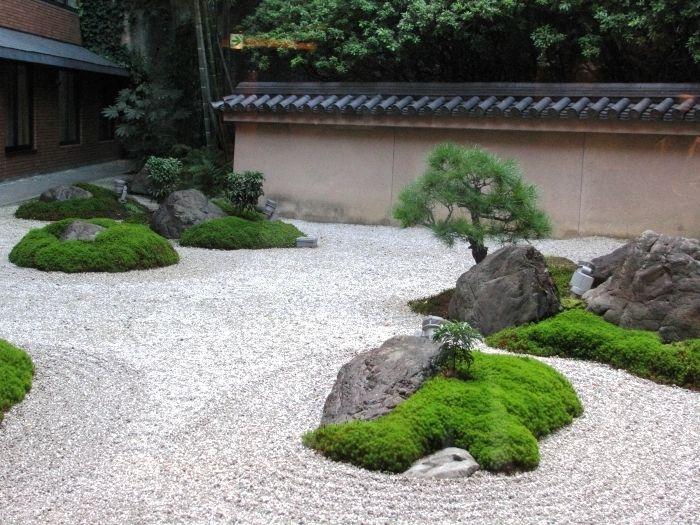 Японский сад камней diseño de jardin Pinterest Jardines