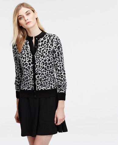 Image of Leopard Print Ann Cardigan