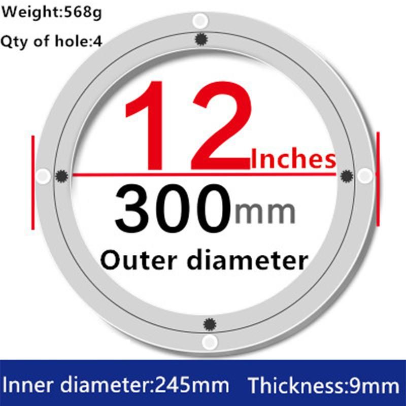 2pcs 12 Inches 30cm Wholesale Lazy Susan Turntable Dining Table