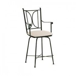Charleston Forge Blackberry Road Swivel Counterstool With Arms