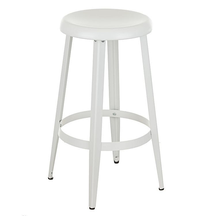 Miraculous Tolosa Classic Metal Round Kitchen Counter Stool In Matte Andrewgaddart Wooden Chair Designs For Living Room Andrewgaddartcom
