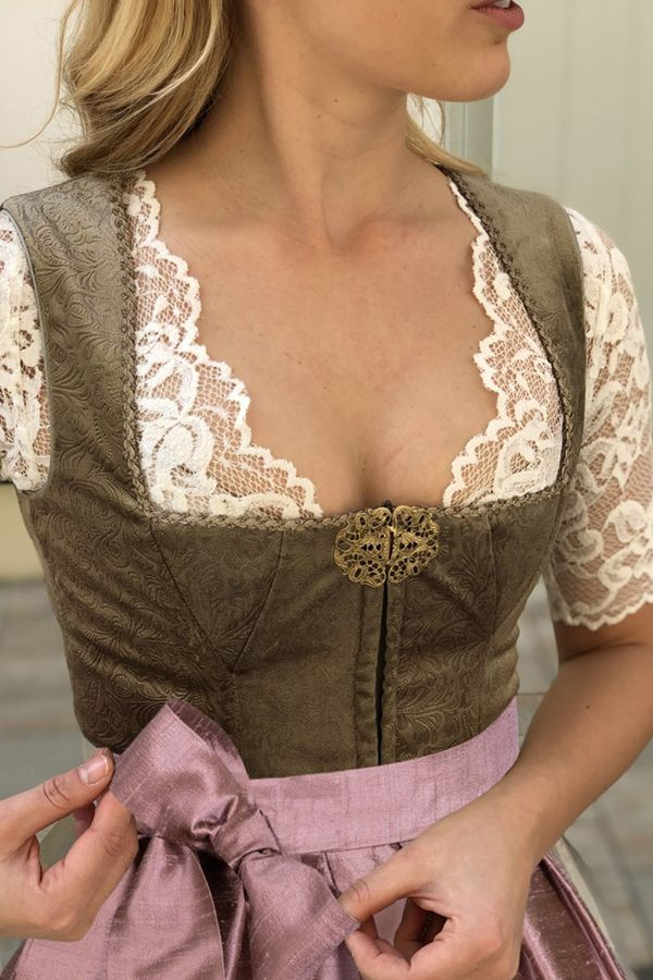 Photo of AlpenHerz Dirndl Fredericke i beige