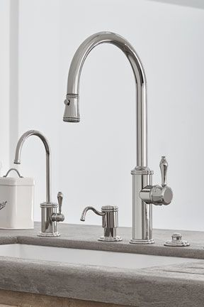 Davoli Pull Down Kitchen Faucet With 42 Series Standard Lever In