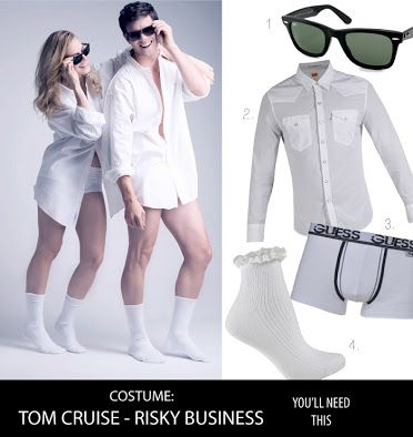 Tom Cruise Risky Business Costume Google Search Risky Business Costume Halloween Costumes Online Cute Halloween Costumes