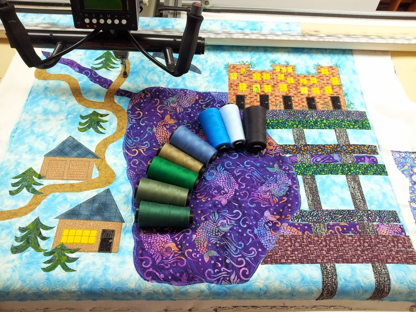 Crafty Sewing & Quilting: Across the Pond to Grandmama's House - An Imaginar...