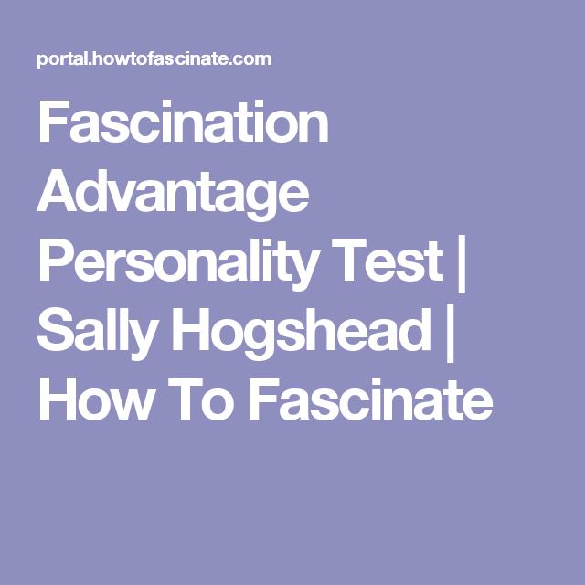 Sally hogshead test