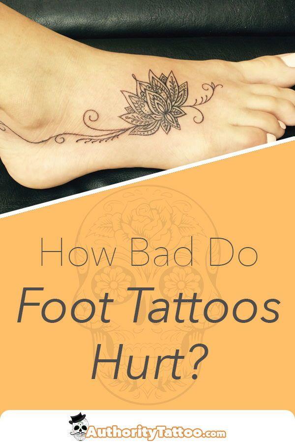 Photo of Von allen Stellen am Körper kann eine Tätowierung am Fuß besonders …