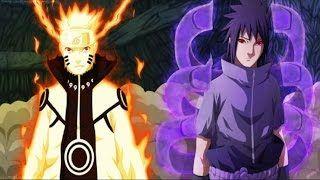 Naruto & Sasuke vs Rikudou Madara (Final Fight) Naruto
