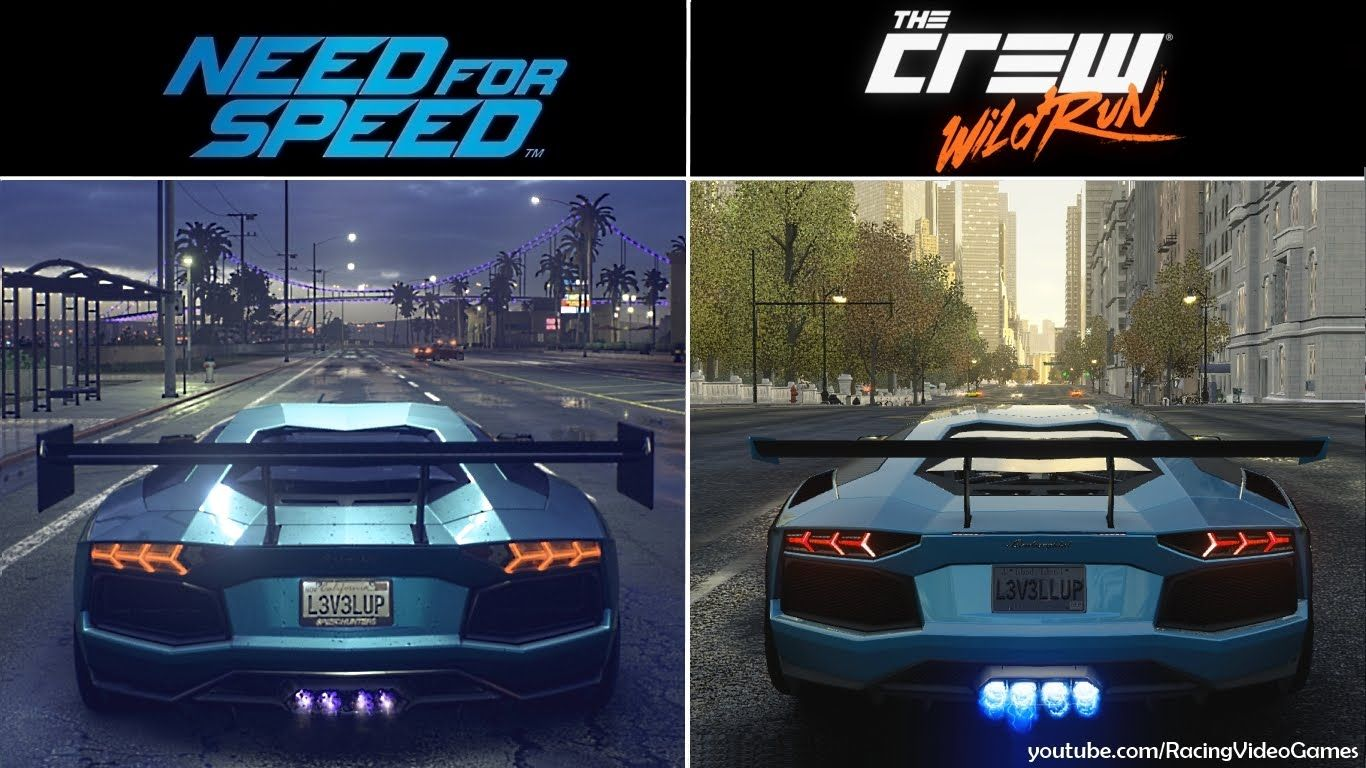 Need For Speed Vs The Crew Wild Run Graphics Weather Comparison 2015 Open World Racing Games Need For Speed Racing Games Racing
