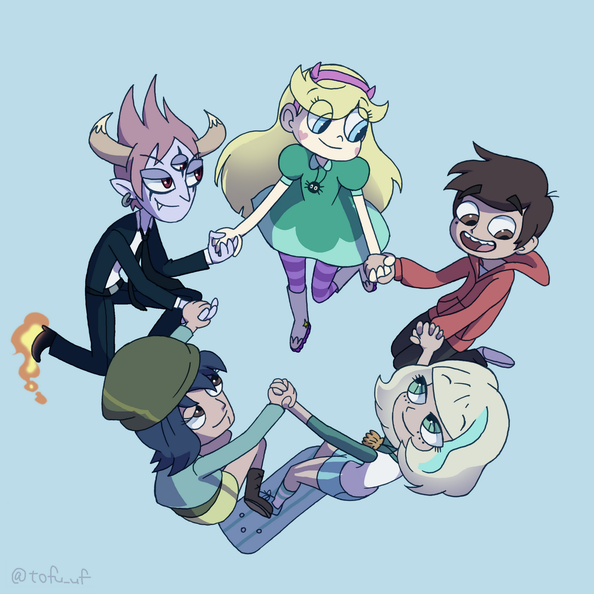 Major characters in Svfoe