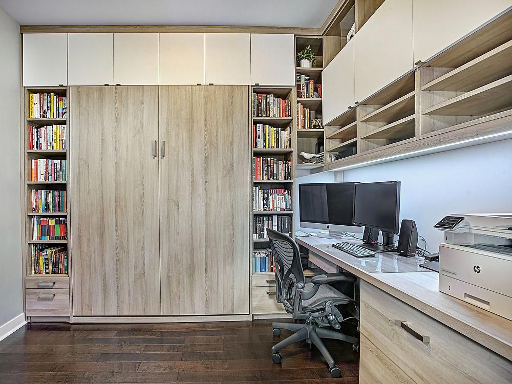 Custom Workstations For Home Office in Toronto by Space