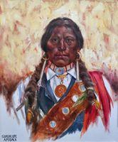 Lakota Warrior by Guadalupe Apodaca kp