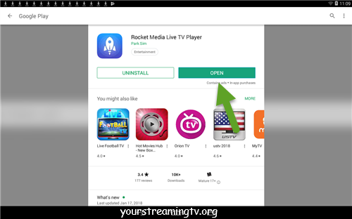Rocket Media Live TV Player APK APP Download & Install – Your