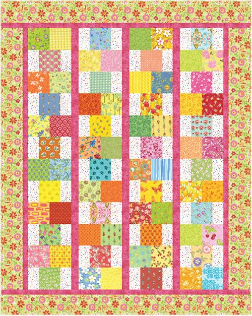 One of Pat Speth's for sale patterns called Hopscotch. Pretty and ... : hopscotch quilt pattern - Adamdwight.com