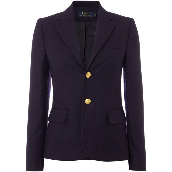 Polo Ralph Lauren Boyfriend Blazer (20,865 DOP) ❤ liked on ...