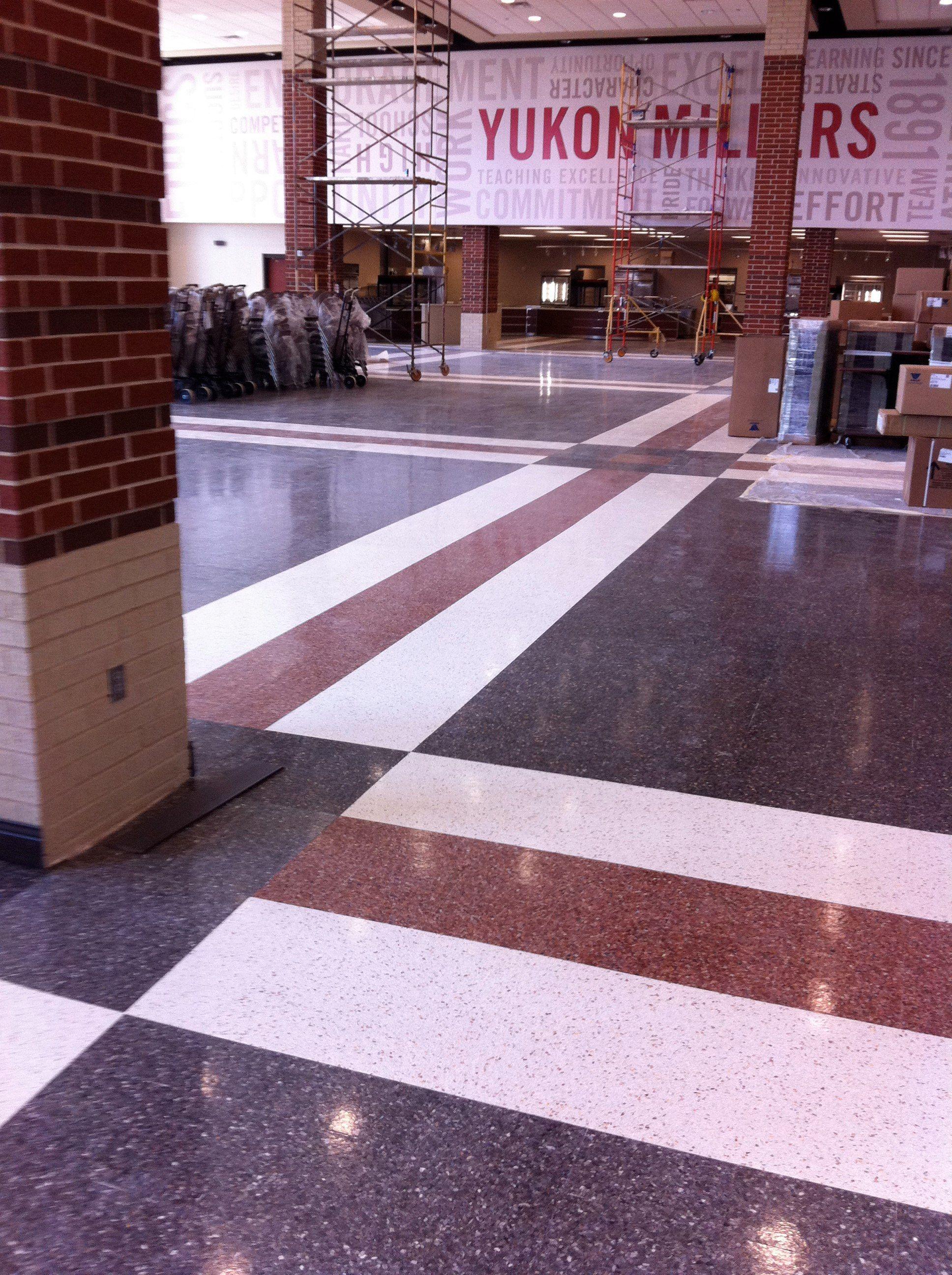 Floor Pattern Terrazzo Tile Terrazzo Tiles