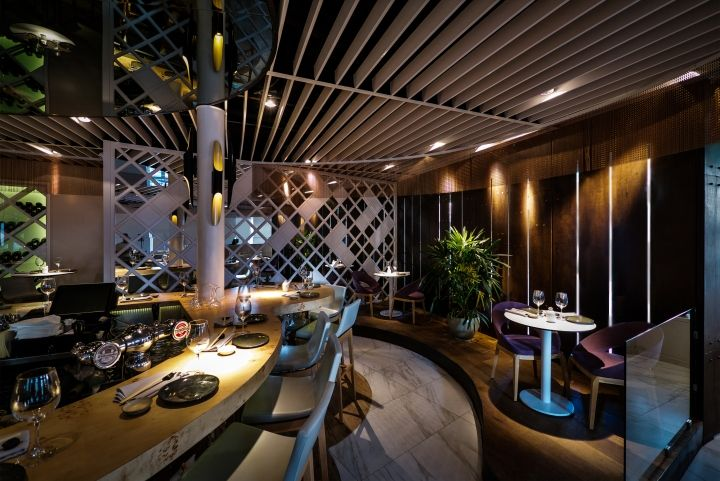 Tyo japanese restaurant by studio yaron tal tel aviv for Innendekoration restaurant