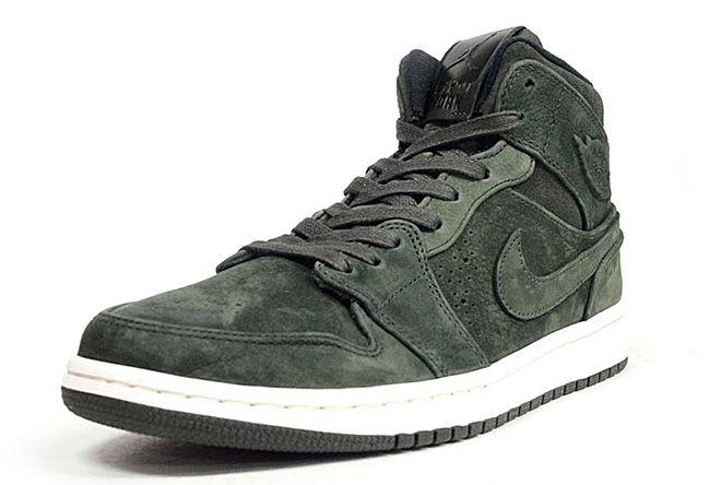 """Air Jordan 1 Mid Nouveau """"Khaki Green"""""""